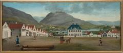 View of Engen in Bergen