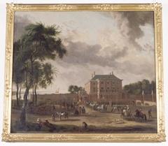View of Gemeenlandshuis Zwanenburg
