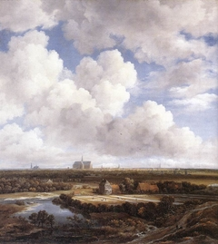 View of Haarlem with Bleaching Fields