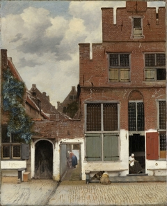 View of Houses in Delft, Known as 'The Little Street'