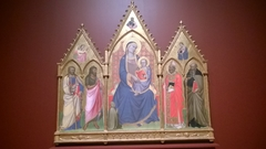 Virgin and Child with a Donor, Saints James and John the Baptist and Saints Nicholas and Anthony Abbott