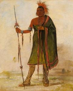 Wash-ím-pe-shee, Madman, a Distinguished Warrior