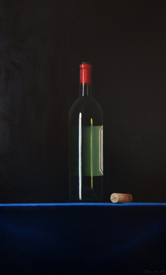 Wine Bottle 40x60cm