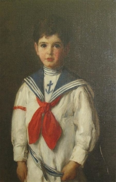 Young Boy in a Sailor's Costume