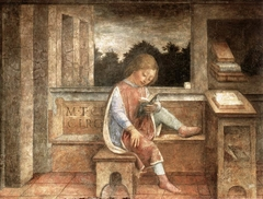 Young Cicero reading