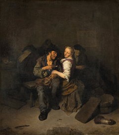Young Couple in a Tavern