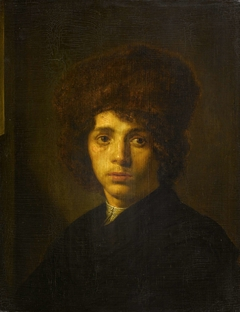 Young Man with a Fur Hat