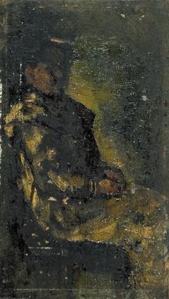 Zittende vrouw (Agnita Feis)