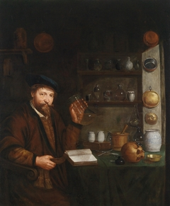 A Doctor in His Study