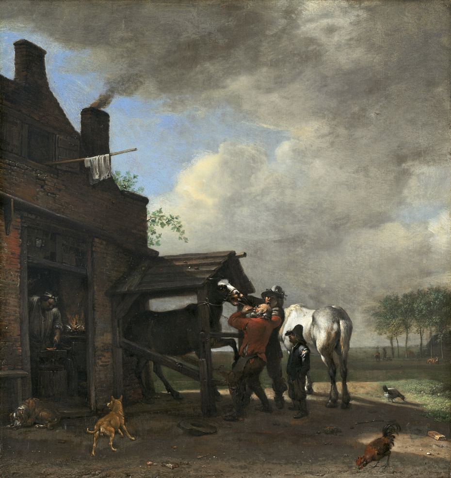 A Farrier's Shop