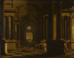 A Palace Interior