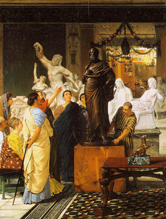 A Sculpture Gallery in Rome at the Time of Agrippa