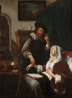 A Sick Woman and Her Doctor