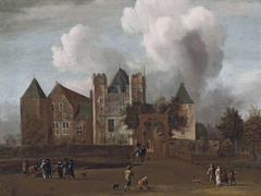 A view of Purmerend Castle, near Monnickendam, Waterland