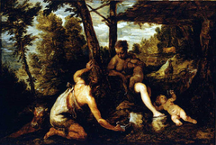 Adam and Eve expelled from Paradise