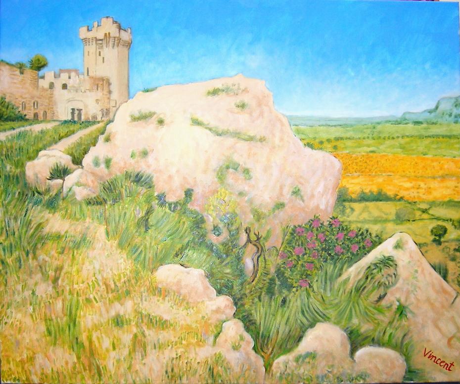 After Vincent 4. (2008), Oil on linen, 120 x 100 cm.