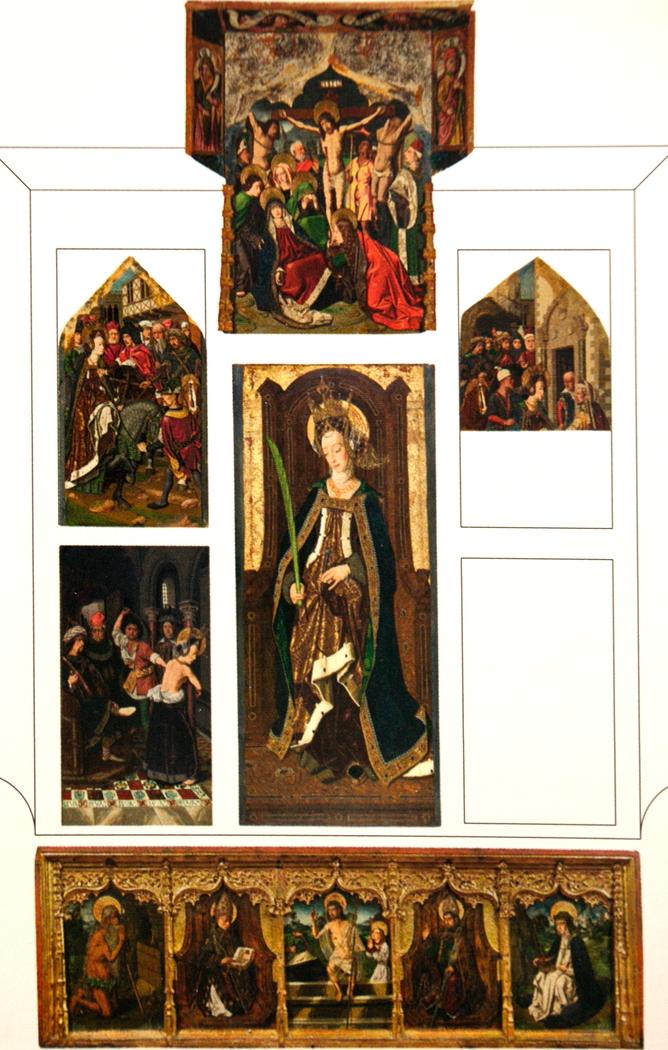 altarpiece of Sainte Engratia