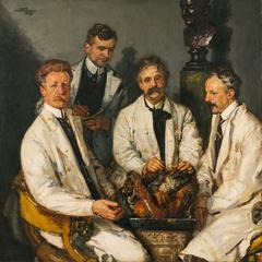 Anatomische les van Prof. L. Bolk