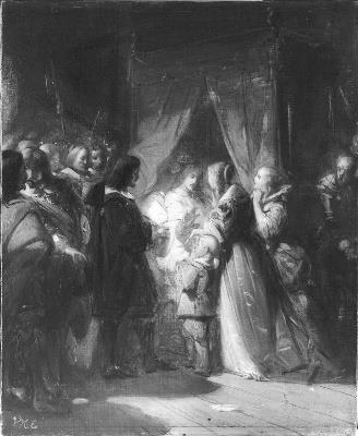 Anno 1672. Cornelis de Witt wordt tot herroeping van de Akte van Seclusie gedwongen