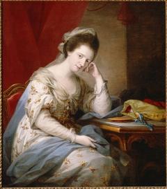 Barbara St. John Bletsoe, Countess of Coventry