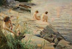 Bathing Girls (Outdoors)