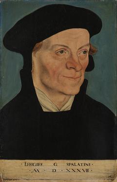 Bildnis des Reformators Georg Spalatin