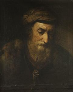 Bildnis eines alten Mannes (?)