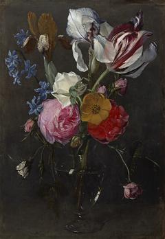 Bloemen in een vaas