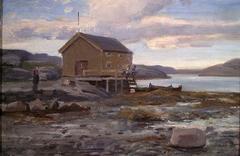 Boat House in Flatanger
