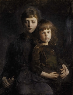 Brother and Sister (Mary and Gerald Thayer)