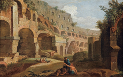 Capriccio - interior of the Colosseum, Rome