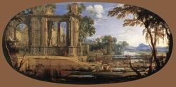 Capriccio with Ancient Ruins