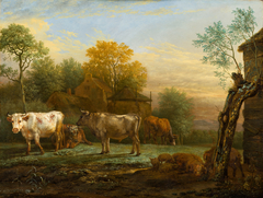 Cattle in a Meadow