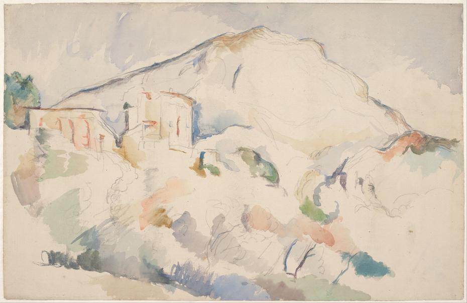 Château Noir and Mont Sainte-Victoire