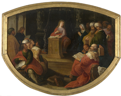 Christ's dispute with the doctors in the temple
