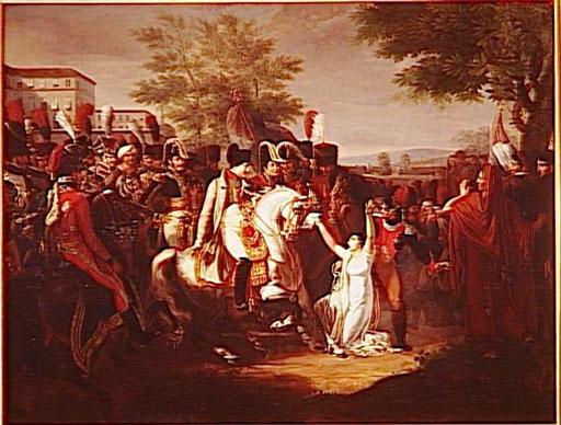 Clémence de l'empereur envers Mademoiselle de Saint-Simon, décembre 1808