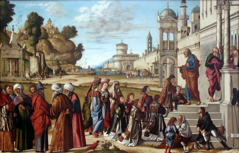 Consecration of St. Stephen as deacon