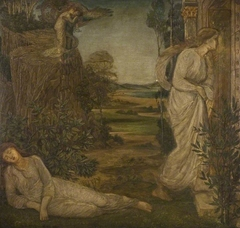 Cupid and Psyche - Palace Green Murals