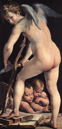 Cupid Making His Arch