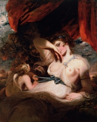 Cupid Untying the Zone of Venus