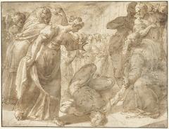 De dood van Ananias
