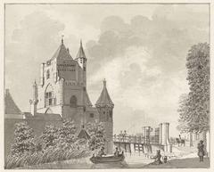 De Spaarnwouder Poort te Haarlem