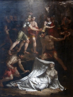 Dead Man Restored to Life by Touching the Bones of the Prophet Elisha