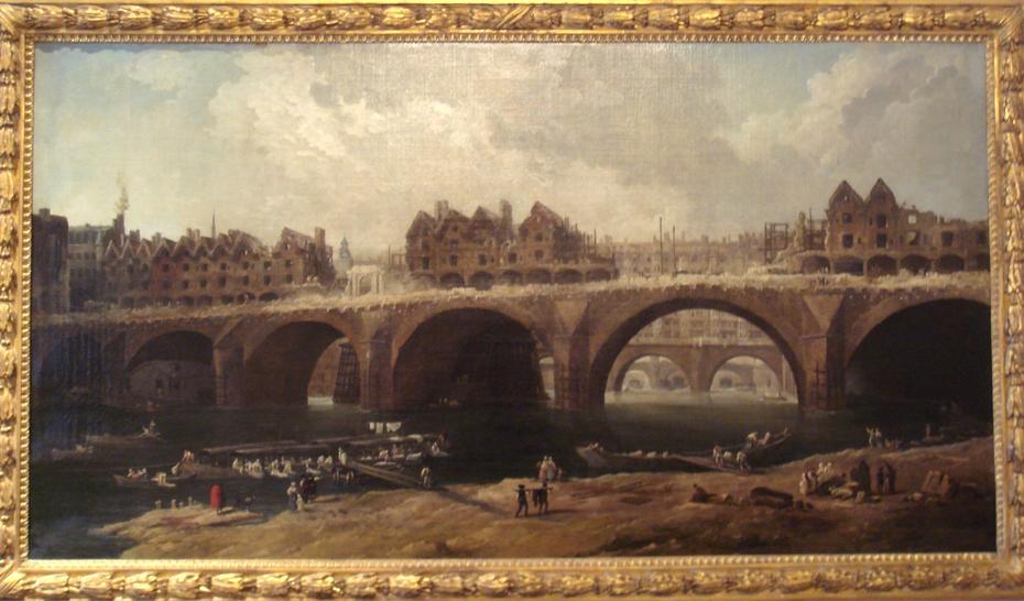 Demolition of Houses on the pont Notre-Dame, 1786