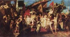 Der Einzug Karls V. in Antwerpen