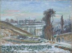 Effet de neige à l'Hermitage, Pontoise