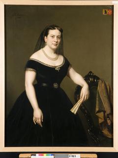 Eldina Aldegonde Gaymans (1835-1915). Echtgenote van Jonkheer Paulus Anne van Beresteyn