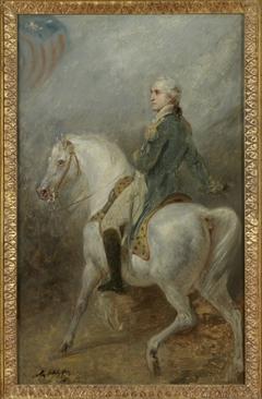 Equestrian Portrait of George Washington