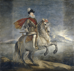 Equestrian Portrait of Philip III