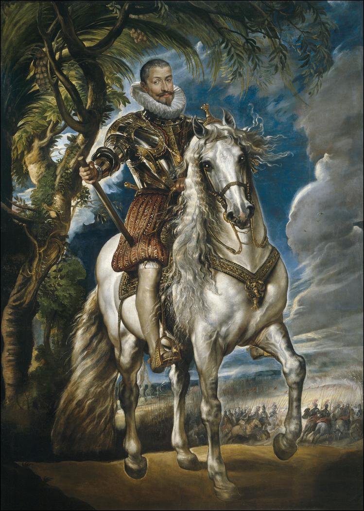 Equestrian Portrait of the Duke of Lerma